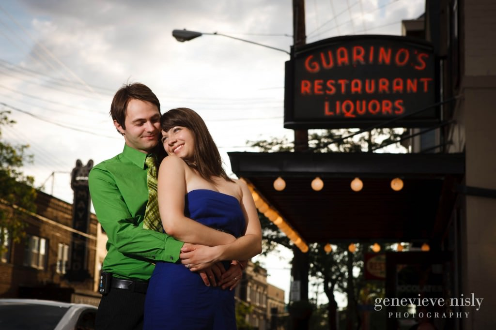 Cleveland, Copyright Genevieve Nisly Photography, Engagements, Little Italy, Ohio, Summer