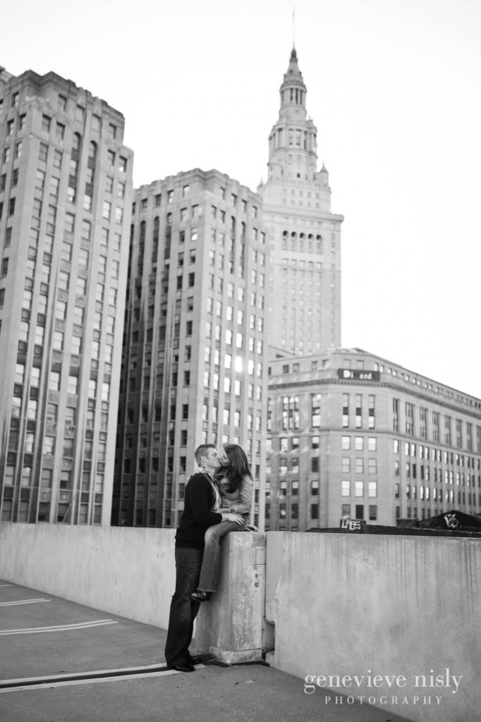 Cleveland, Copyright Genevieve Nisly Photography, Downtown Cleveland, Engagements, Ohio, Spring
