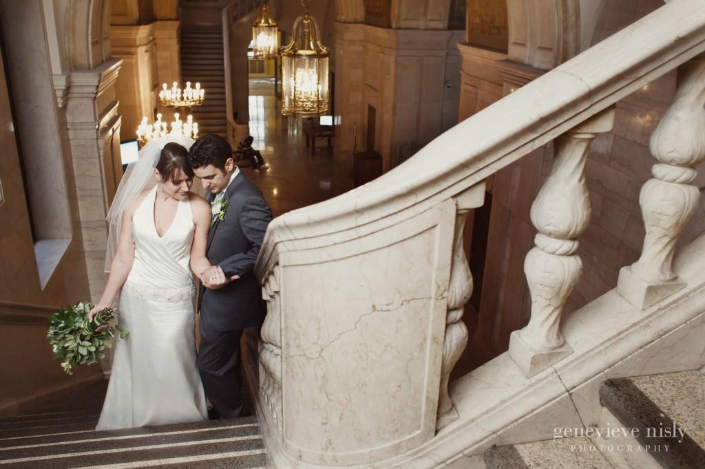 Cleveland, Cleveland Public Library, Copyright Genevieve Nisly Photography, Ohio, Summer, Wedding