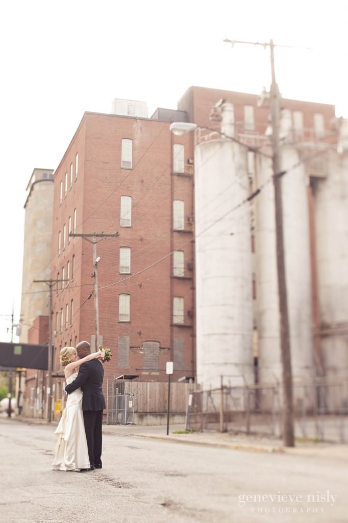 Cleveland, Copyright Genevieve Nisly Photography, Fall, Flats, Ohio, Wedding