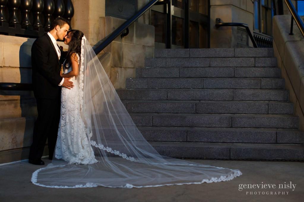 Canton, Copyright Genevieve Nisly Photography, Downtown Canton, Ohio, Summer, Wedding