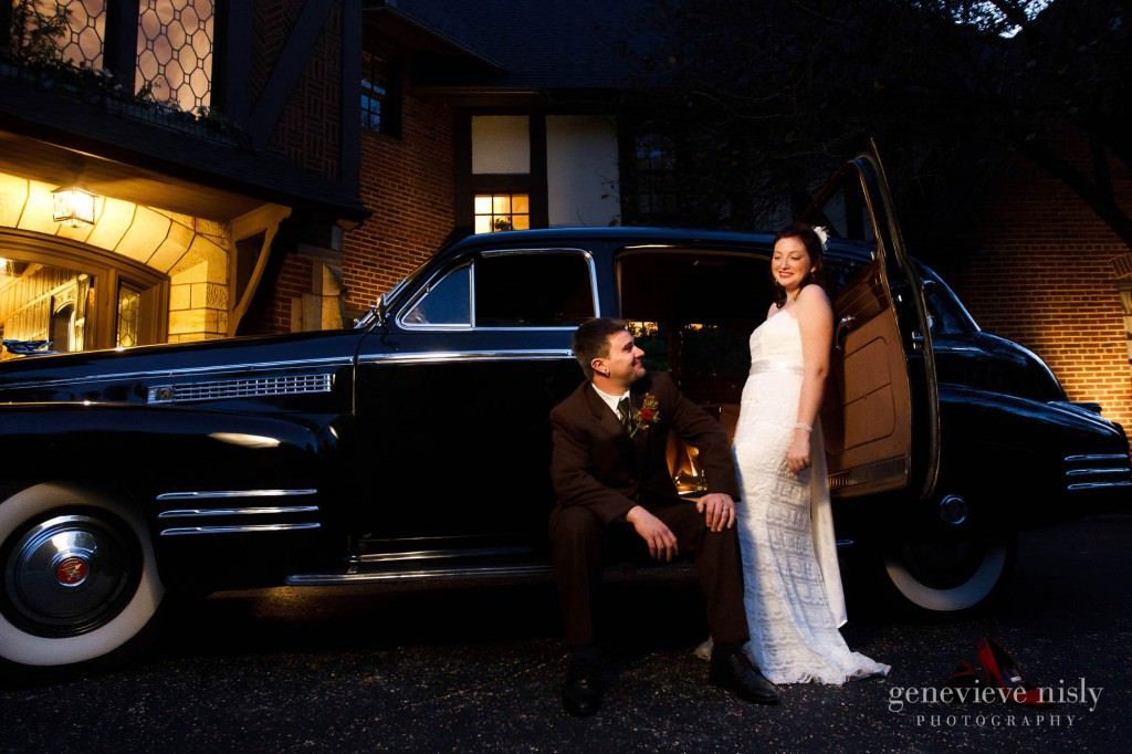 Akron, Copyright Genevieve Nisly Photography, Fall, O'Neil House, Ohio, Wedding