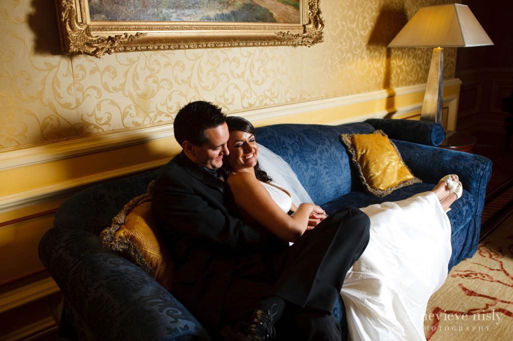 Cleveland, Copyright Genevieve Nisly Photography, Ohio, Ritz Carlton, Wedding, Winter