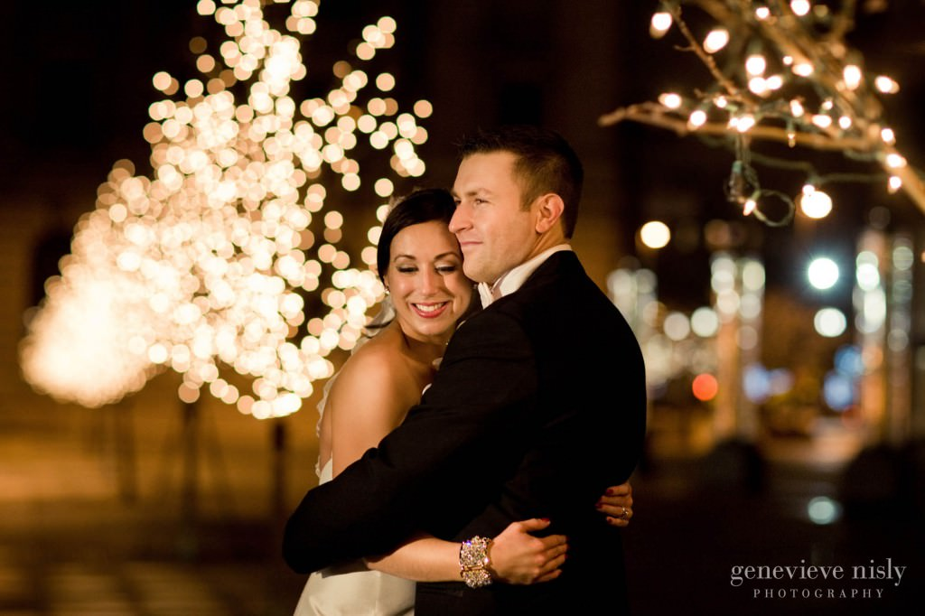 Cleveland, Copyright Genevieve Nisly Photography, Marriott Key Center, Wedding, Winter