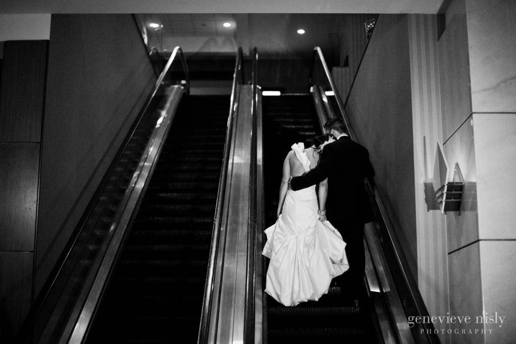 Cleveland, Copyright Genevieve Nisly Photography, Marriott Key Center, Wedding, Winter