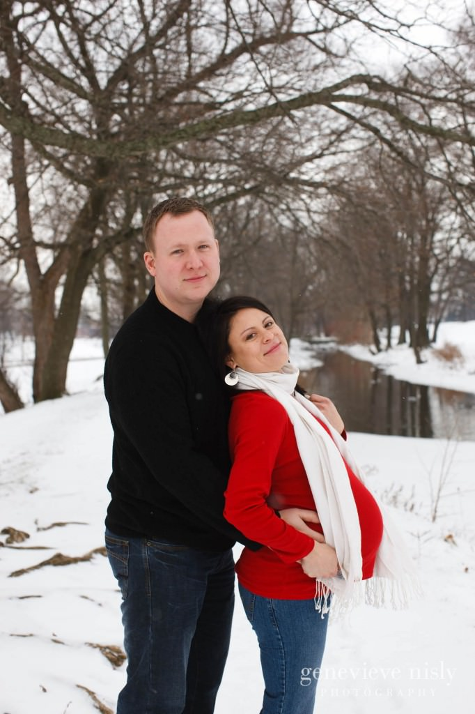 Canton, Copyright Genevieve Nisly Photography, Maternity, Winter