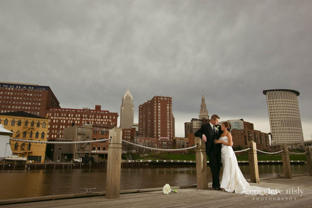 Cleveland, Copyright Genevieve Nisly Photography, Ohio, Spring, Wedding, Windows on the RIver