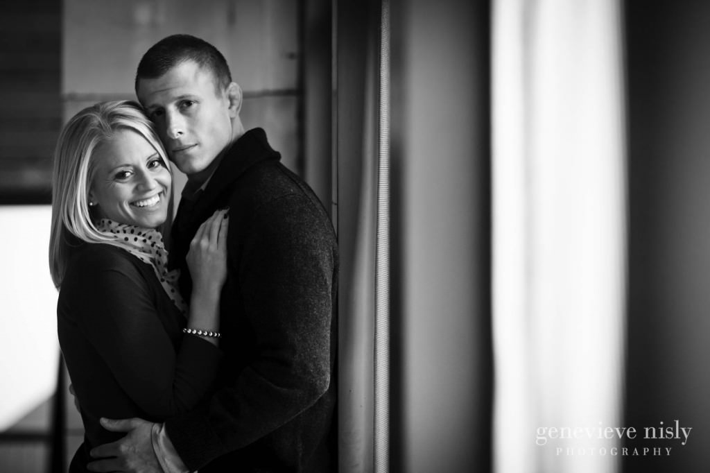 Cleveland, Copyright Genevieve Nisly Photography, Engagements, Fall, Ohio, Ohio City