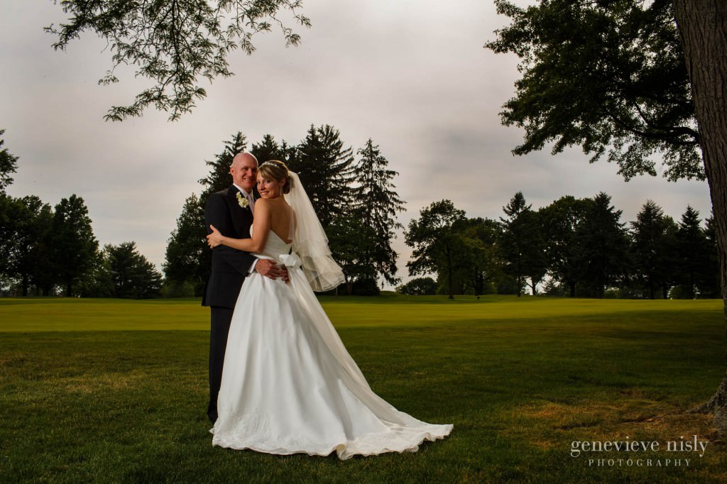 Akron, Copyright Genevieve Nisly Photography, Ohio, Portage Country Club, Summer, Wedding