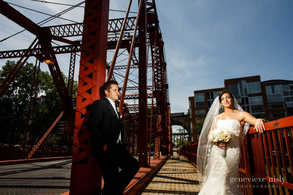 Cleveland, Copyright Genevieve Nisly Photography, Flats, Ohio, Summer, Wedding