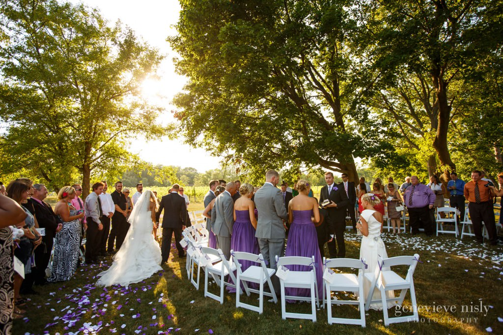 Copyright Genevieve Nisly Photography Ohio Summer Wedding