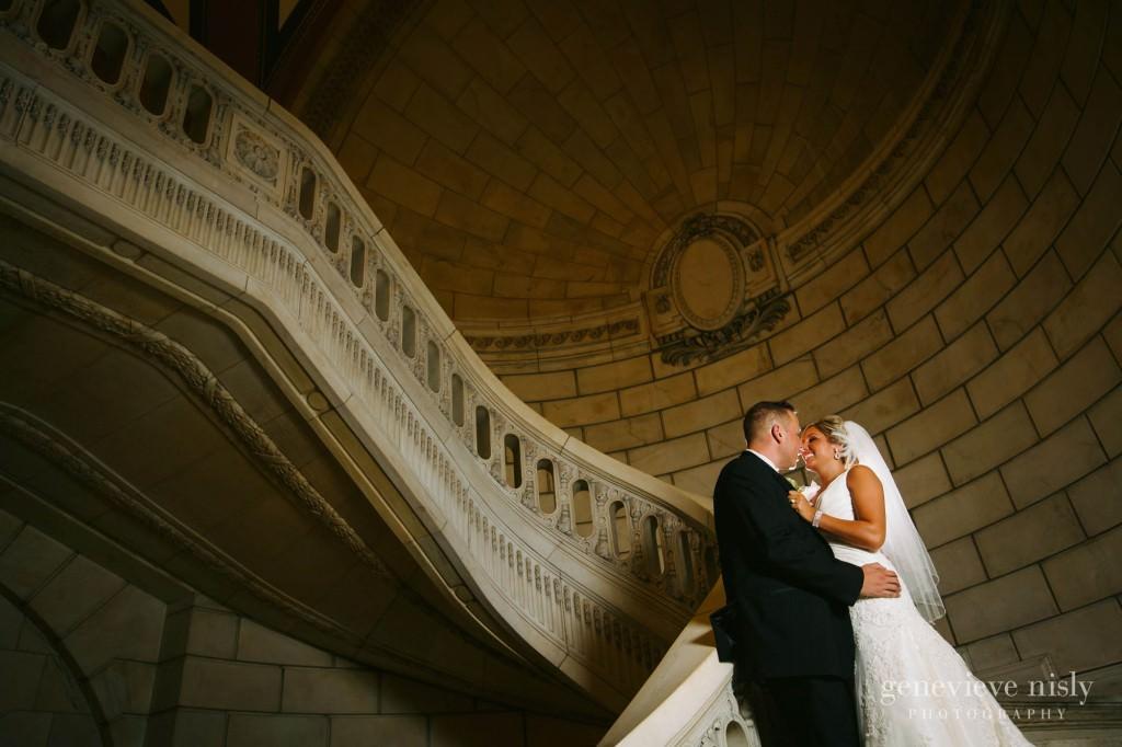 Cleveland, Copyright Genevieve Nisly Photography, Old Courthouse, Summer, Wedding