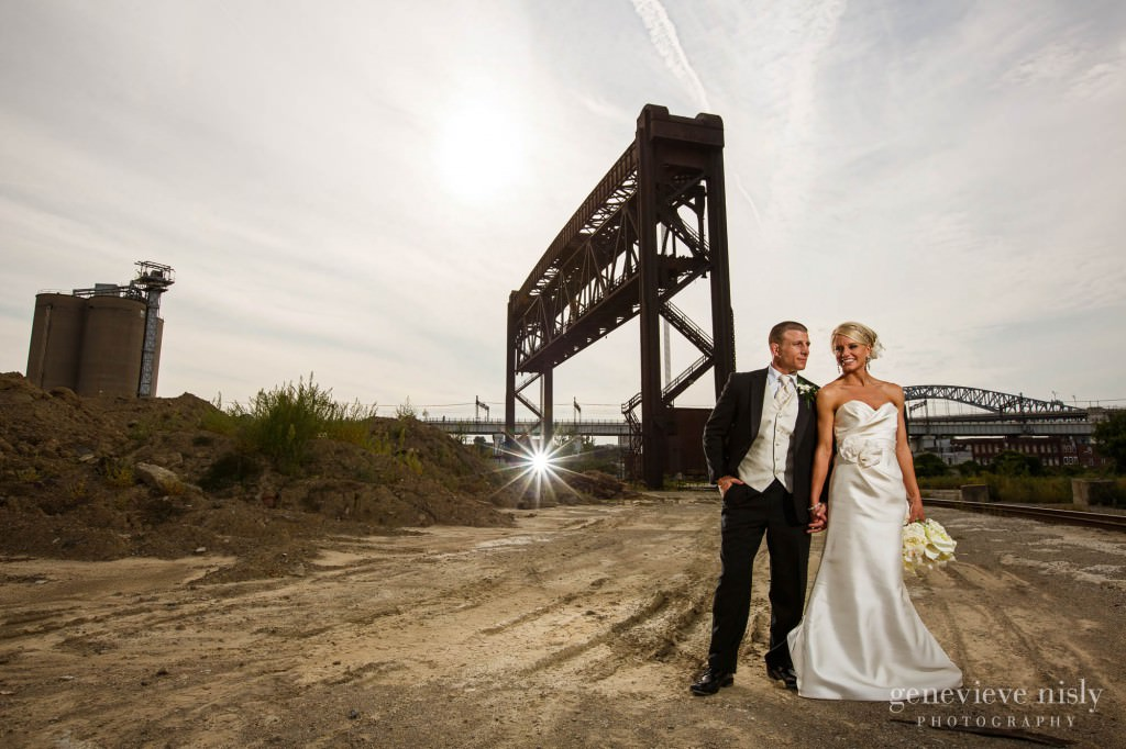 Cleveland, Flats, Summer, Wedding