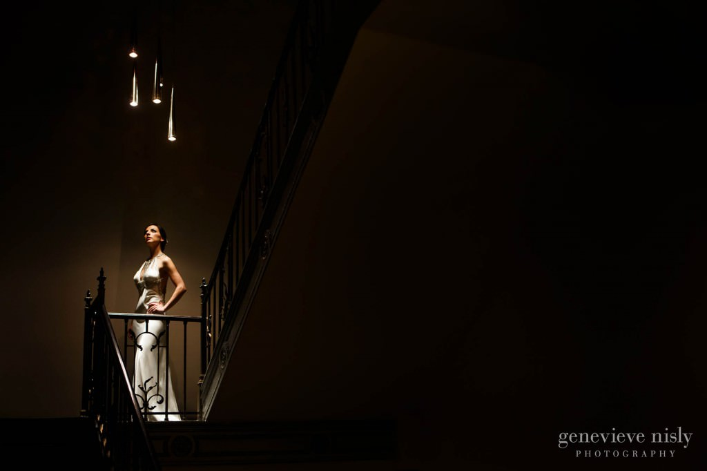 Cleveland, Copyright Genevieve Nisly Photography, Tudor Arms Hotel, Wedding, Winter