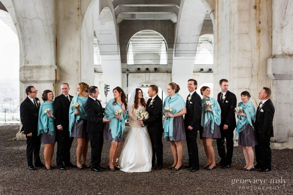 Cleveland Copyright Genevieve Nisly Photography Flats Ohio Wedding
