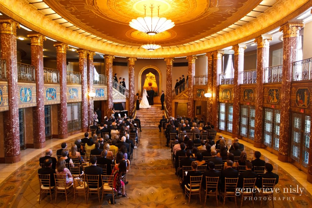 Cleveland Severance Hall Copyright Genevieve Nisly Photography Wedding
