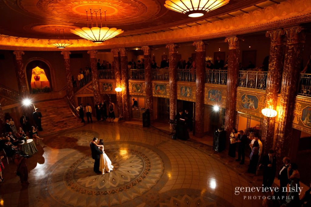Wedding Copyright Genevieve Nisly Photography Severance Hall