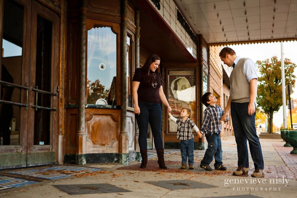 Canton, Copyright Genevieve Nisly Photography, Downtown Canton, Fall, Family, Portraits
