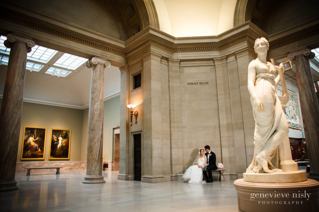 Cleveland, Cleveland Museum of Art, Spring, Wedding