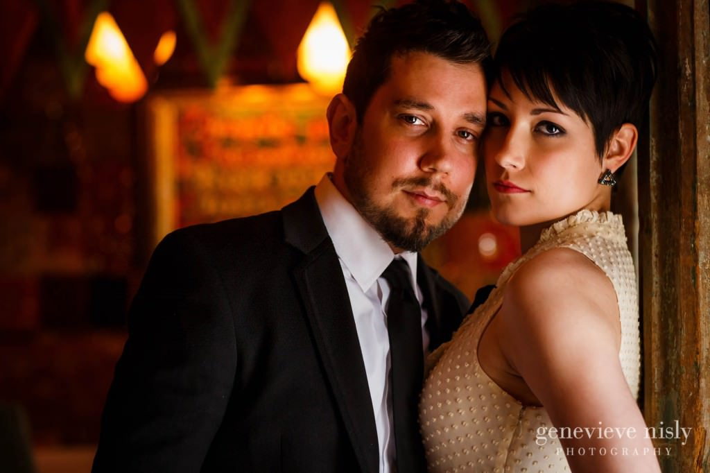 Cleveland, Copyright Genevieve Nisly Photography, Engagements, House of Blues