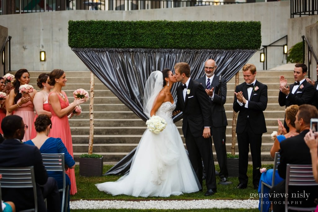 Chicago, Copyright Genevieve Nisly Photography, Illinois, Museum of Contemporary Art, Summer, Wedding