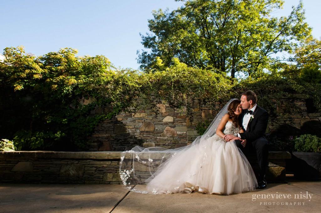Botanical Gardens, Cleveland, Ohio, Summer, Wedding