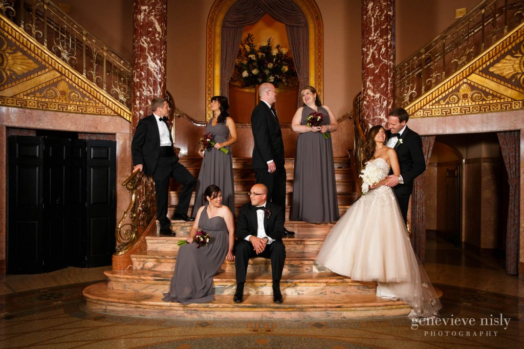 Wedding Cleveland Ohio Severance Hall Summer
