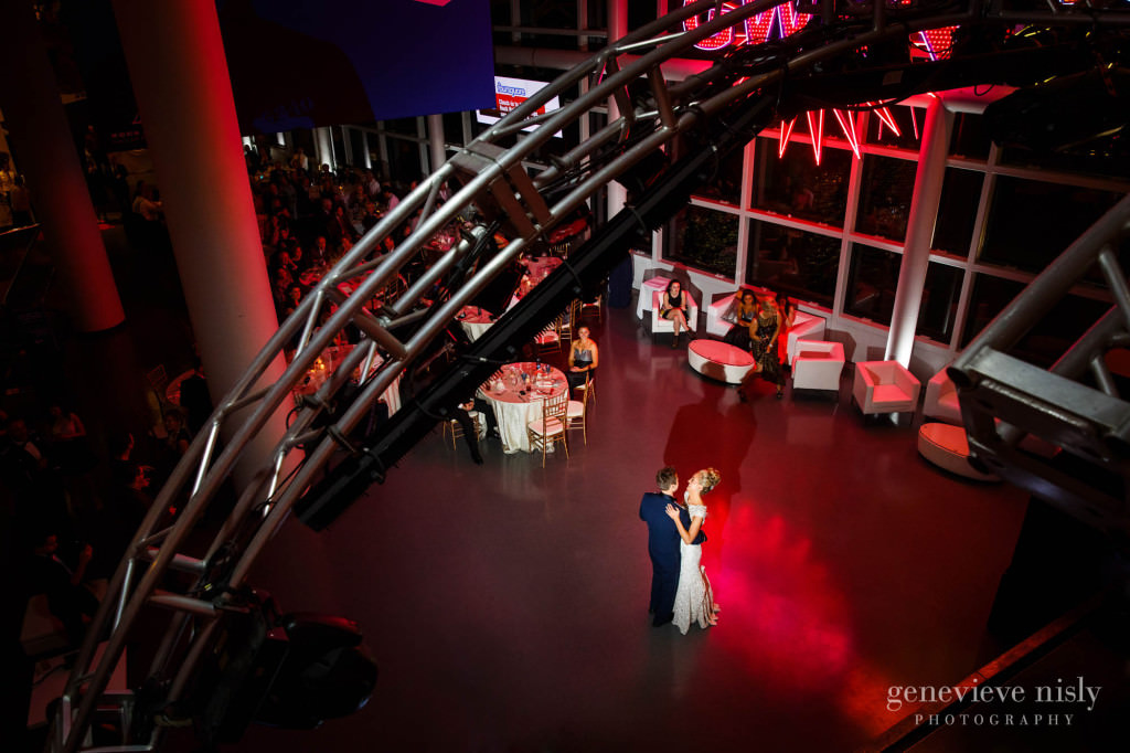 Cleveland, Copyright Genevieve Nisly Photography, Fall, Ohio, Rock and Roll Hall of Fame, Wedding