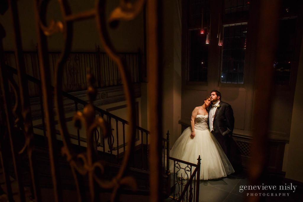 Cleveland, Copyright Genevieve Nisly Photography, Ohio, Tudor Arms Hotel, Wedding, Winter