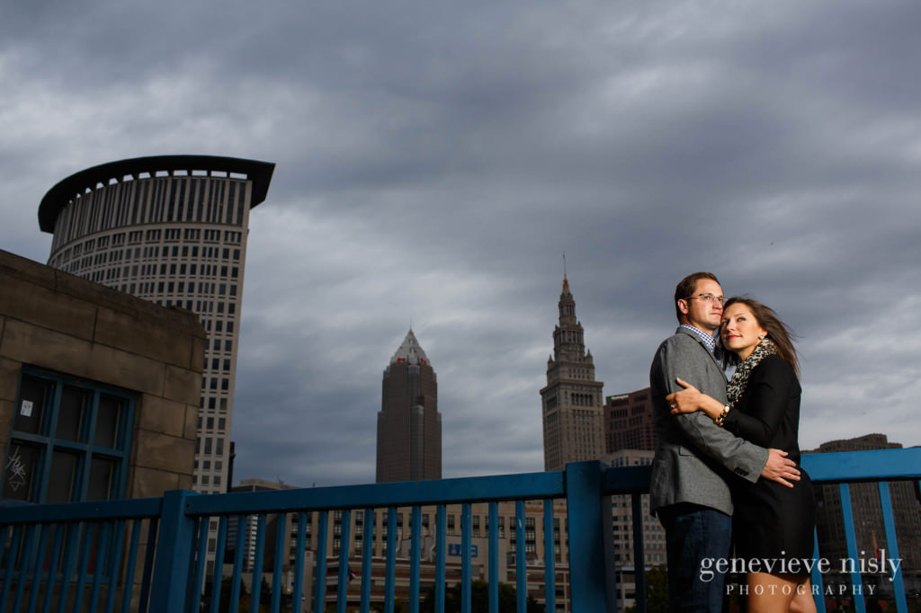 Cleveland, Copyright Genevieve Nisly Photography, Engagements, Fall, Flats