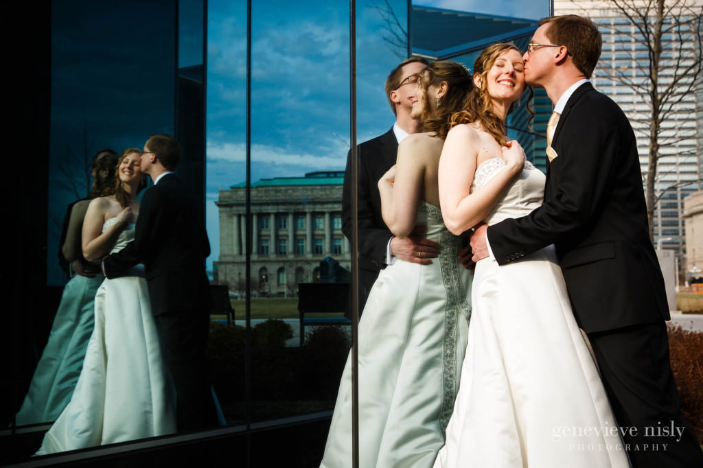 Cleveland, Copyright Genevieve Nisly Photography, Downtown Cleveland, Ohio, Spring, Wedding