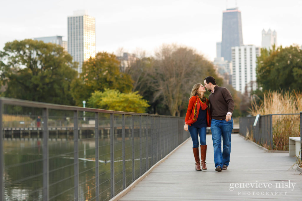 Chicago, Copyright Genevieve Nisly Photography, Engagements, Illinois, Lincoln Park, Summer