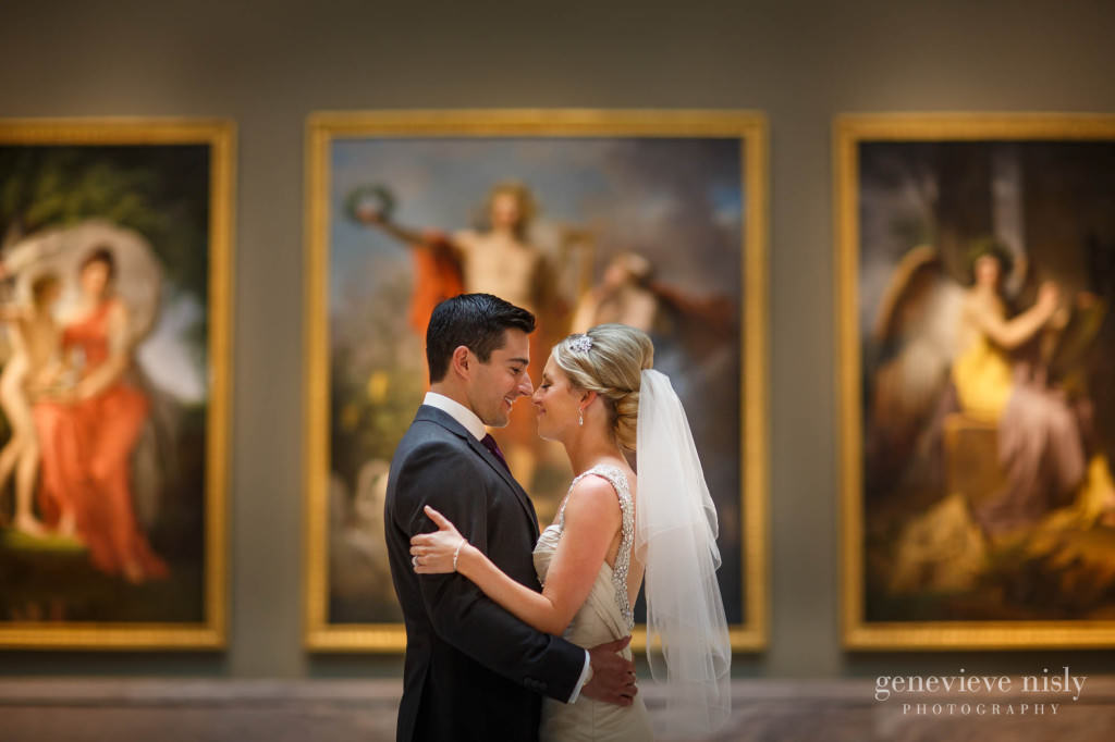 Cleveland Museum of Art, Copyright Genevieve Nisly Photography, Summer, Wedding
