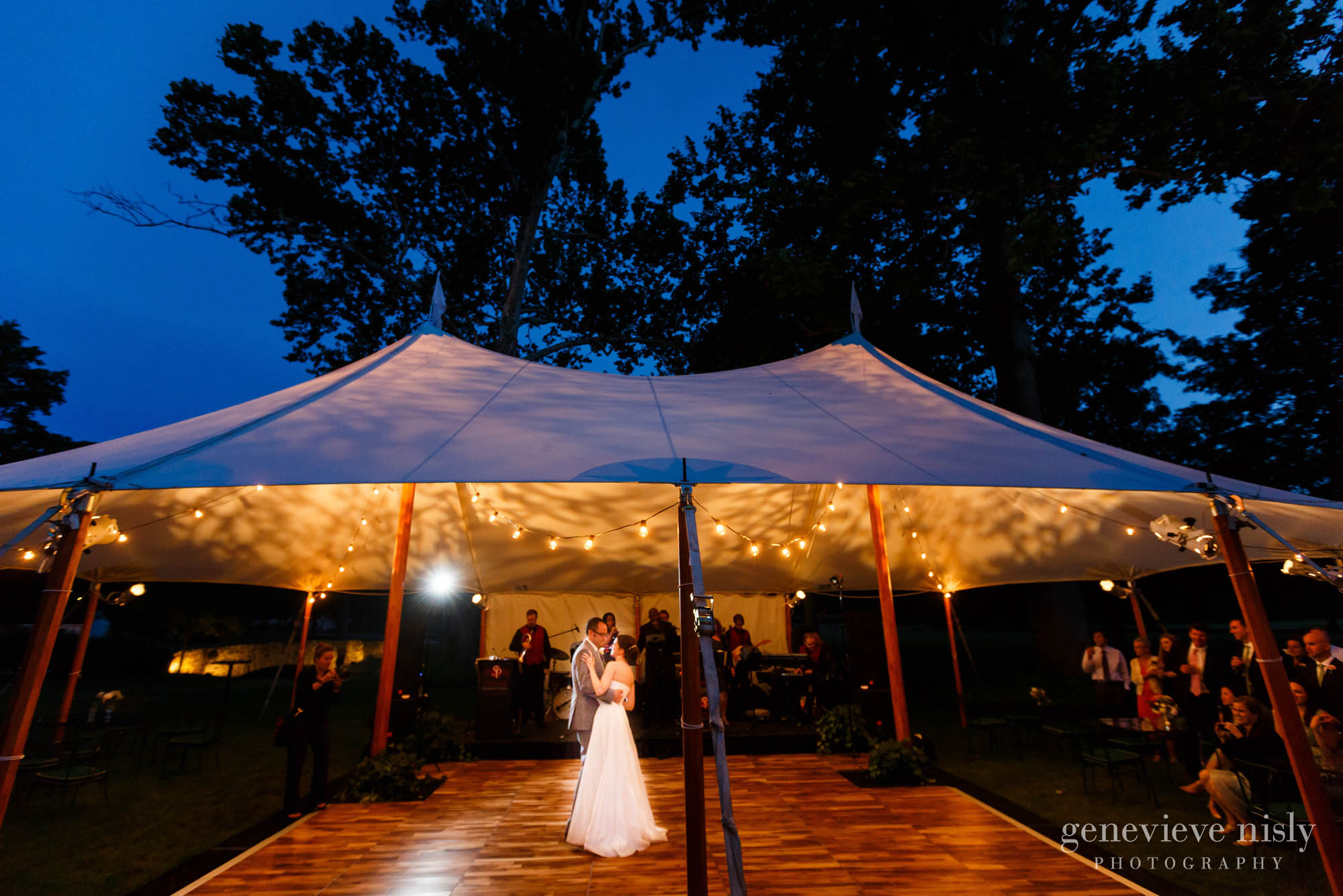 An Outdoor Wedding Ceremony At London S Hunt Club: Cleveland Wedding Photographers