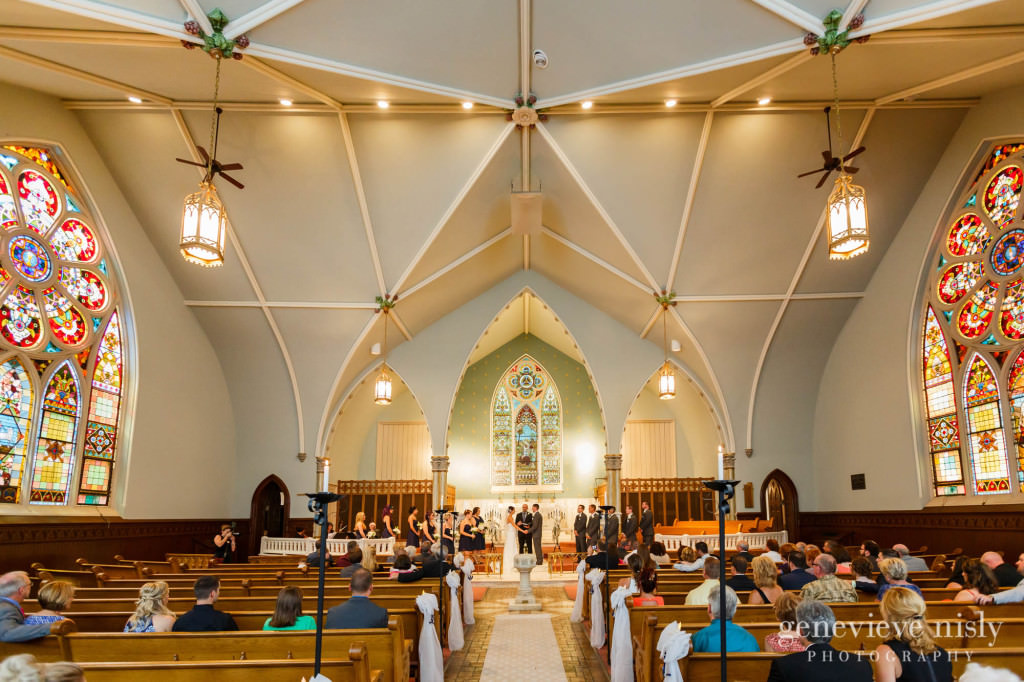 Wedding Canton Copyright Genevieve Nisly Photography Old Stone Chapel Summer
