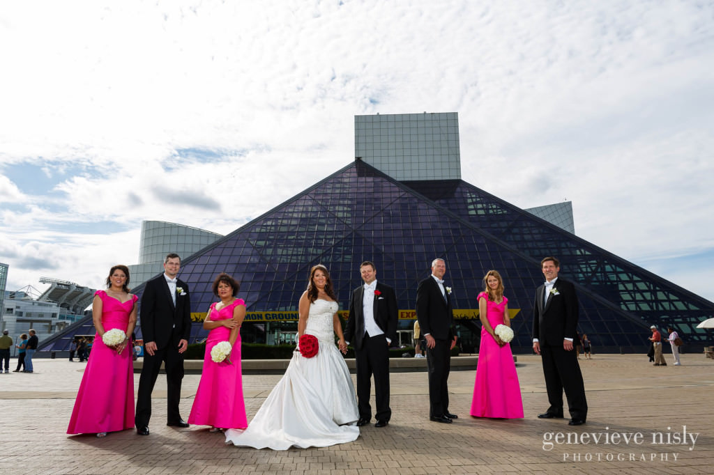 Cleveland, Copyright Genevieve Nisly Photography, Fall, Voinovich Park, Wedding
