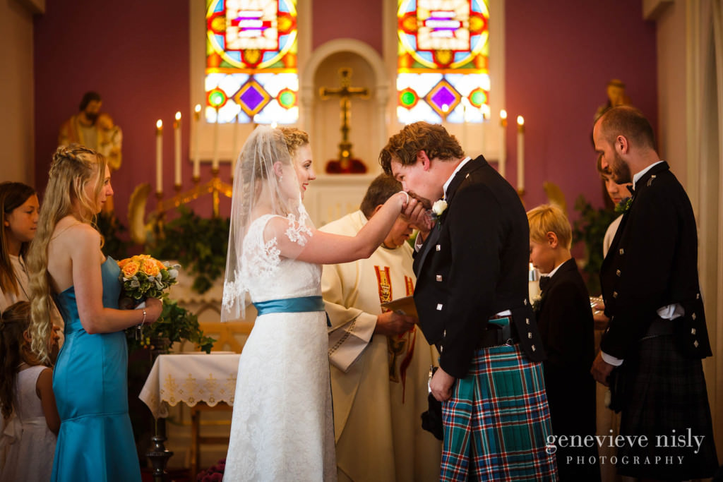 Copyright Genevieve Nisly Photography, Mother of Sorrows, Summer, Wedding
