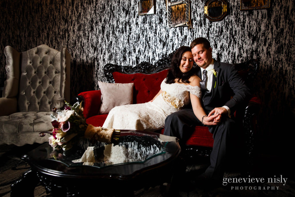 Cleveland, Copyright Genevieve Nisly Photography, Metropolitan at the 9, Ohio, The Vault, Wedding, Winter