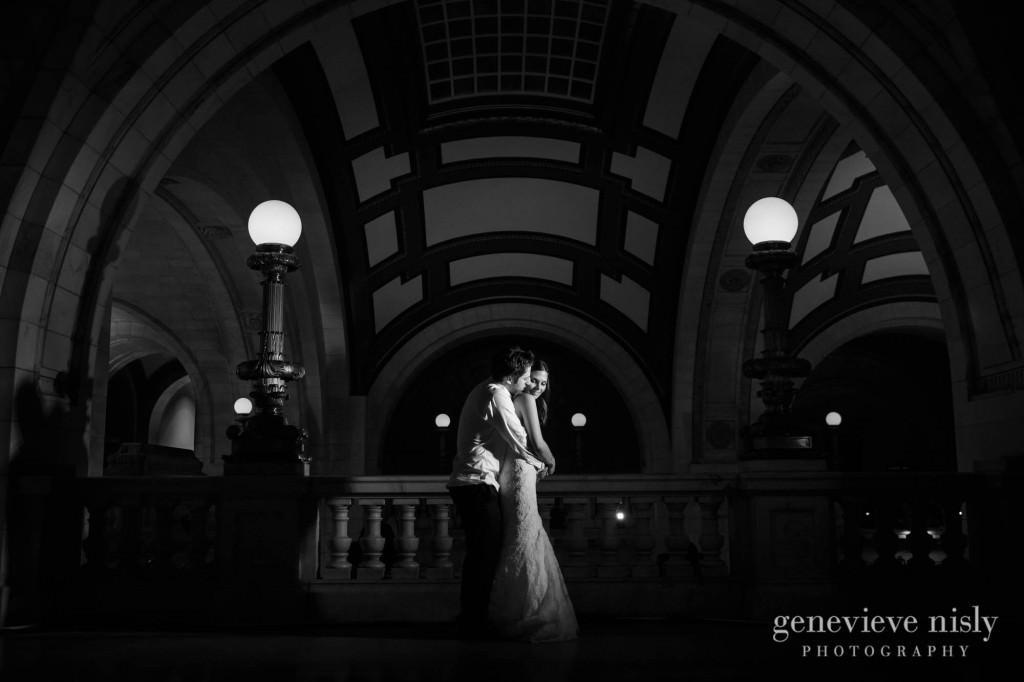 Cleveland, Ohio, Old Courthouse, Wedding, Winter