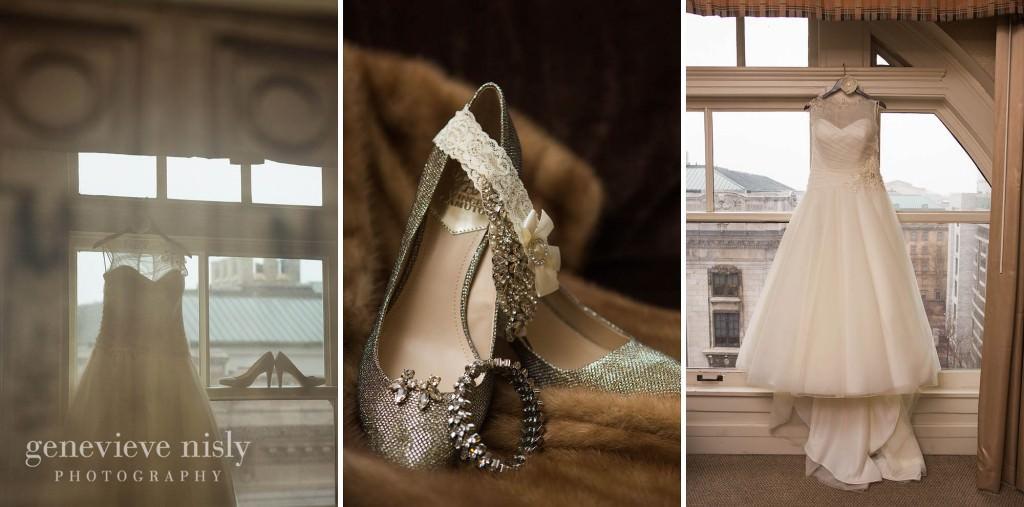 Cleveland, Copyright Genevieve Nisly Photography, Hyatt Arcade, Wedding, Winter