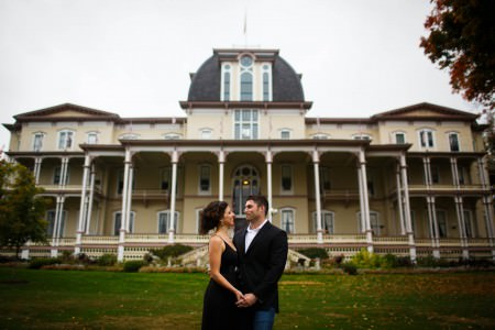 Chautauqua Inn engagement session