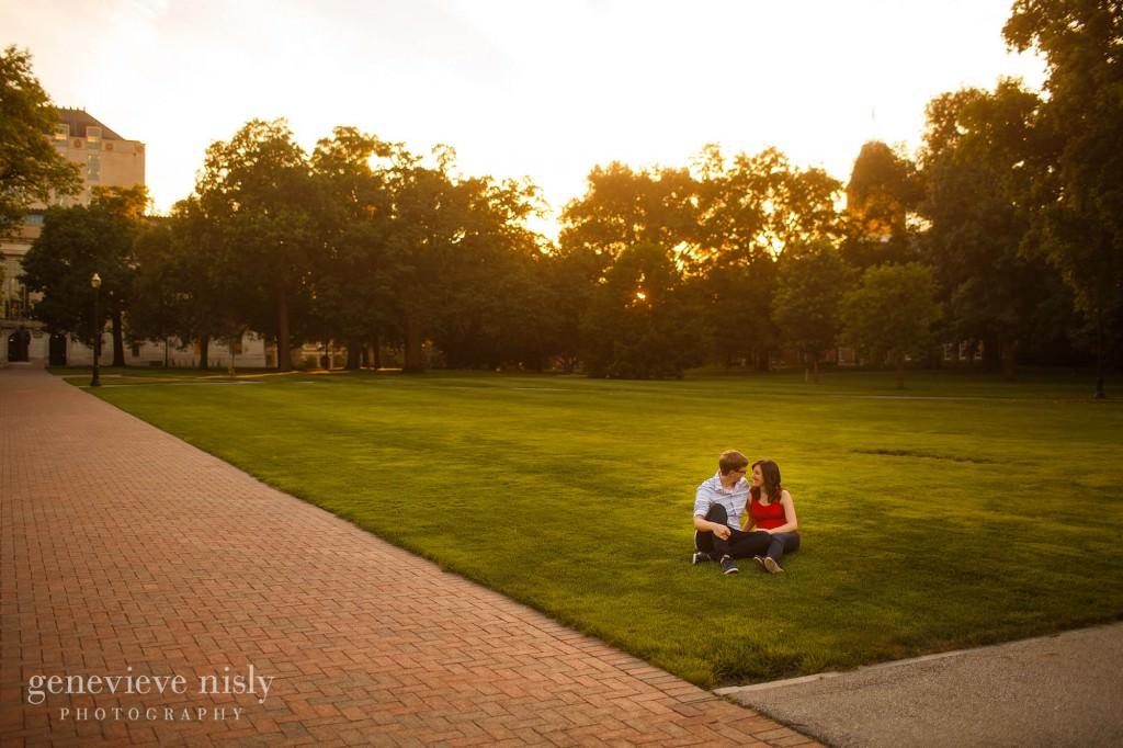 Columbus, Copyright Genevieve Nisly Photography, Engagements, Ohio State University, Summer