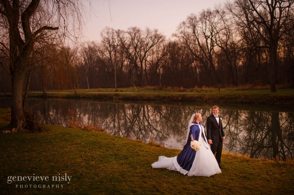 Canton, Copyright Genevieve Nisly Photography, Massillon, Ohio, Towpath Trail, Wedding, Winter
