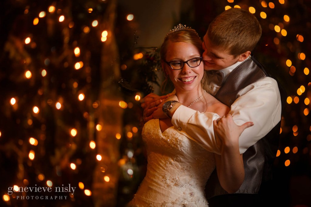 Canton, Copyright Genevieve Nisly Photography, La Pizzaria, Ohio, Wedding, Winter