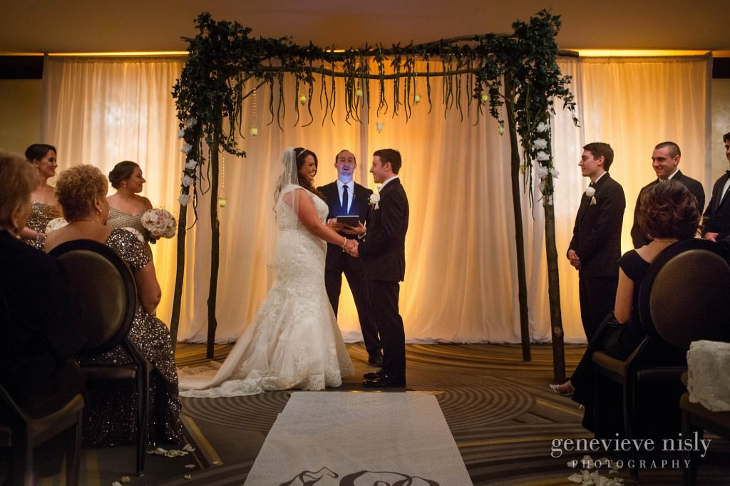 Cleveland, Copyright Genevieve Nisly Photography, Metropolitan at the 9, The Vault, Wedding, Winter