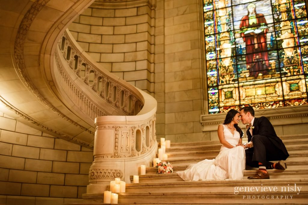 Cleveland, Copyright Genevieve Nisly Photography, Ohio, Old Courthouse, Spring, Wedding