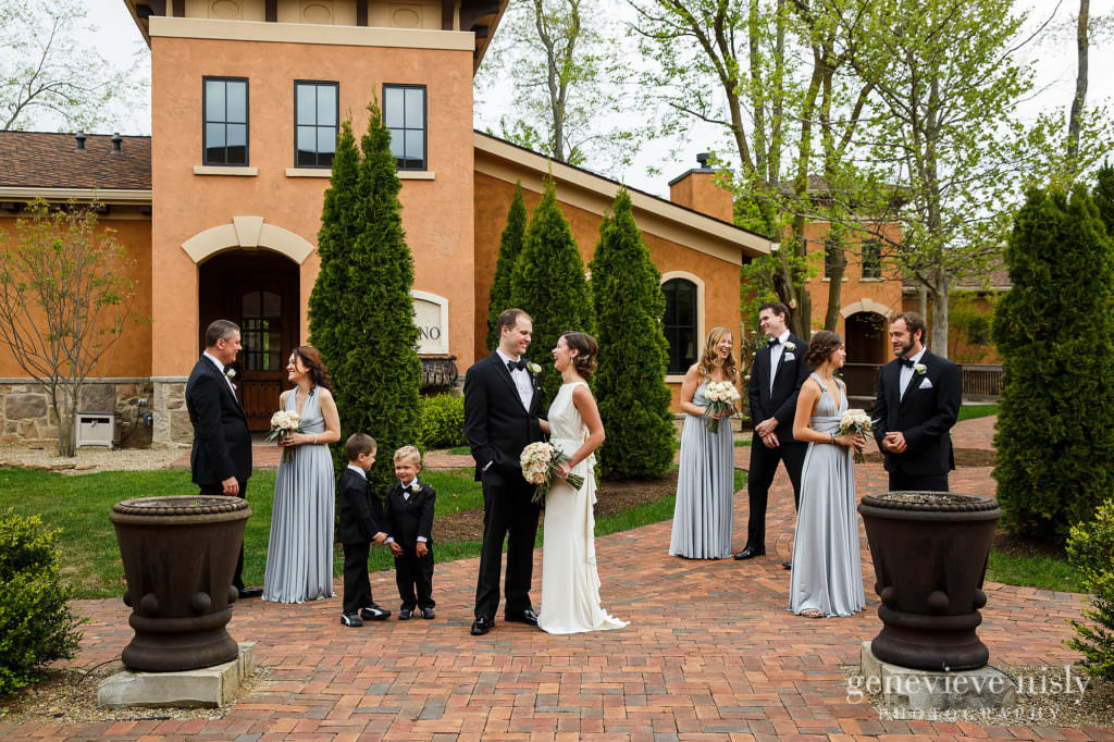 Canton, Copyright Genevieve Nisly Photography, Gervasi Vineyard, Ohio, Spring, Wedding
