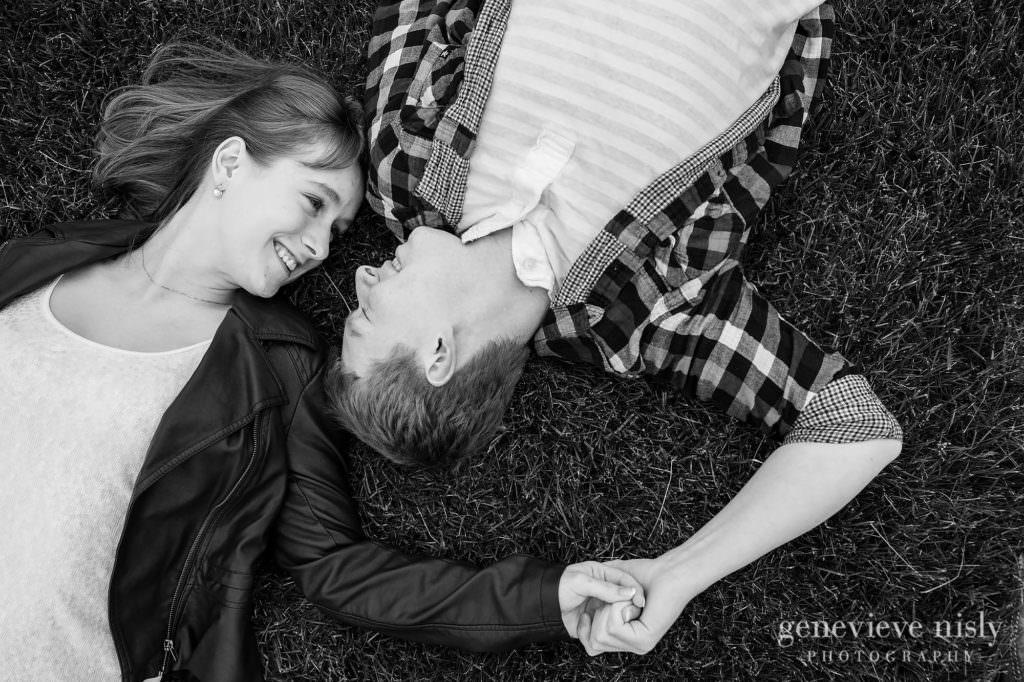 Canton, Copyright Genevieve Nisly Photography, Engagements, Ohio, Spring, Walsh University