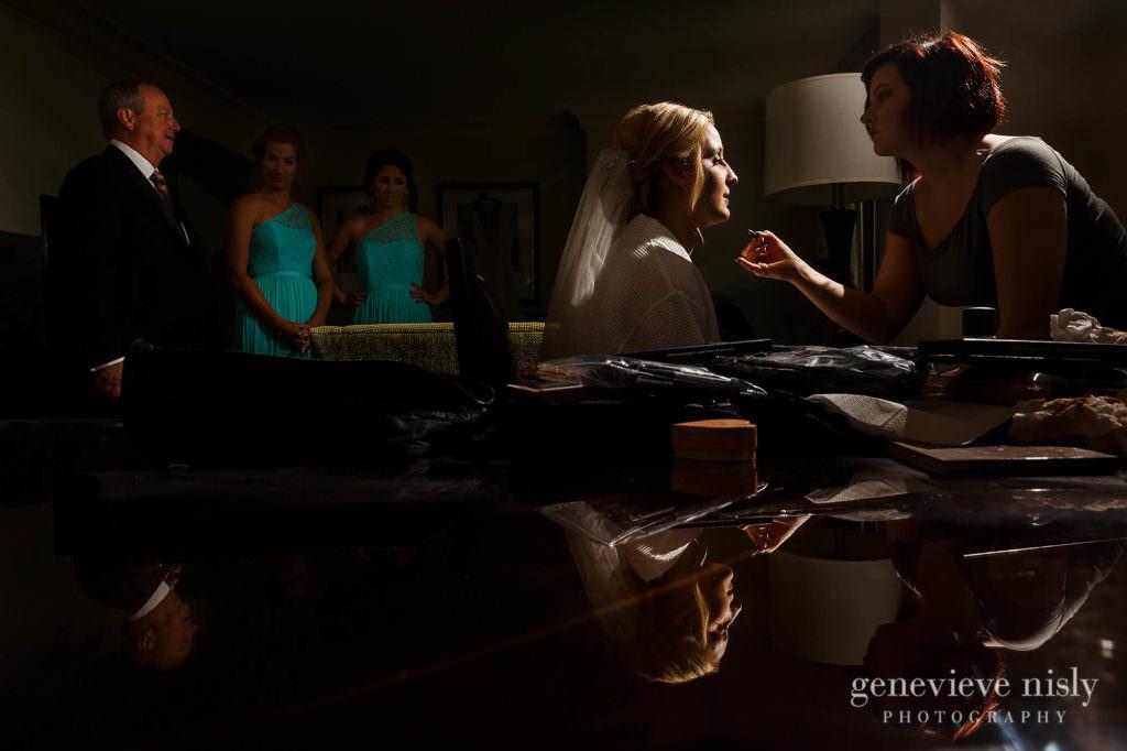 Cleveland, Copyright Genevieve Nisly Photography, Marriott Key Center, Summer, Wedding