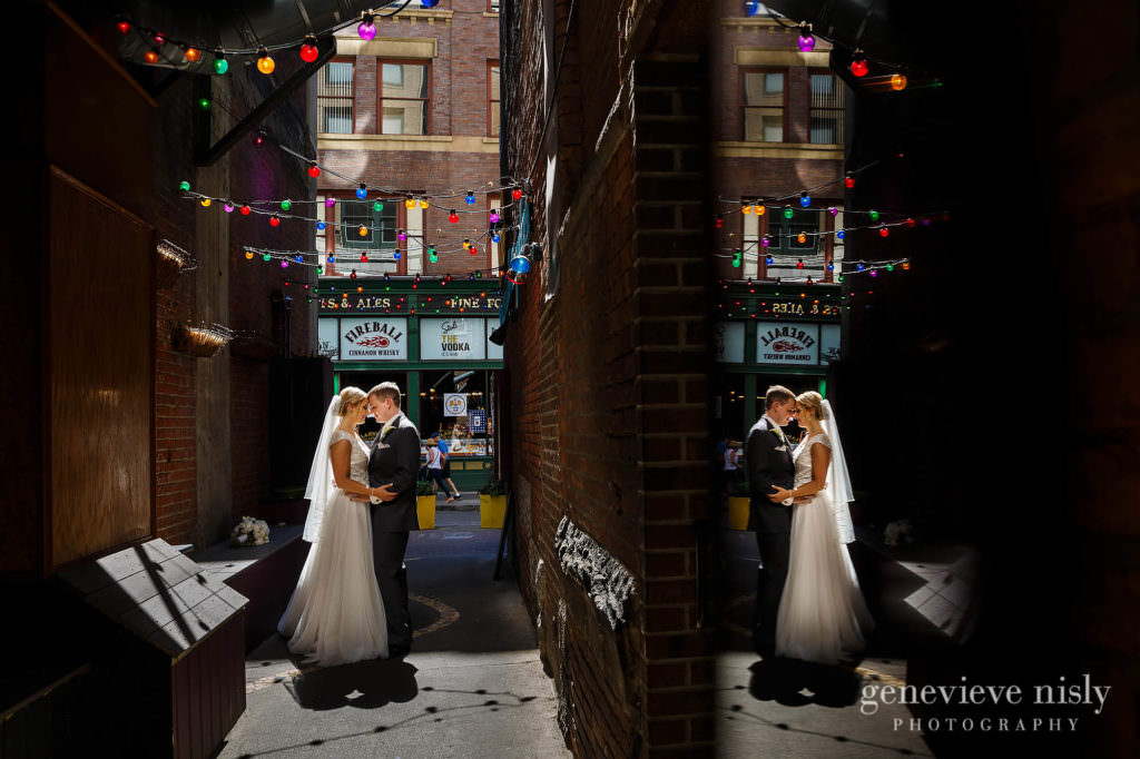 Copyright Genevieve Nisly Photography, East 4th St., Summer, Wedding
